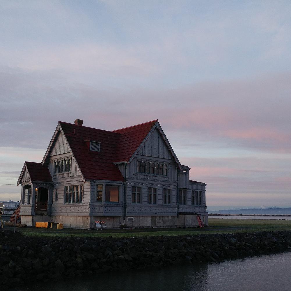 The Weyerhaeuser Muse, Everett's newest old waterfront landmark // Christopher Bragg