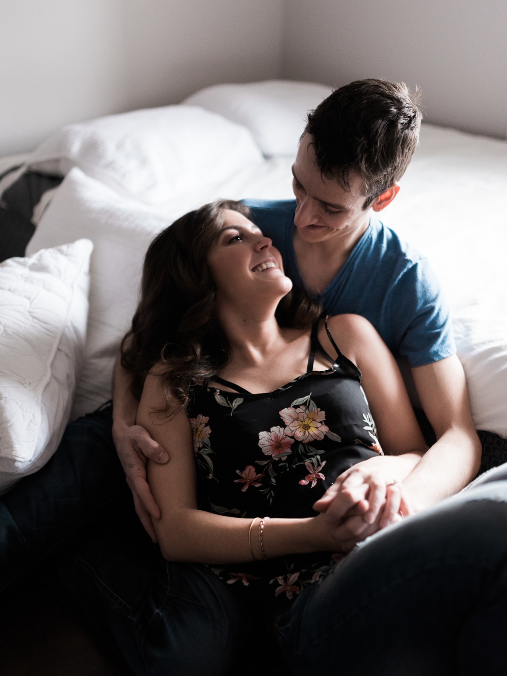 Toronto Intimate Home Engagement