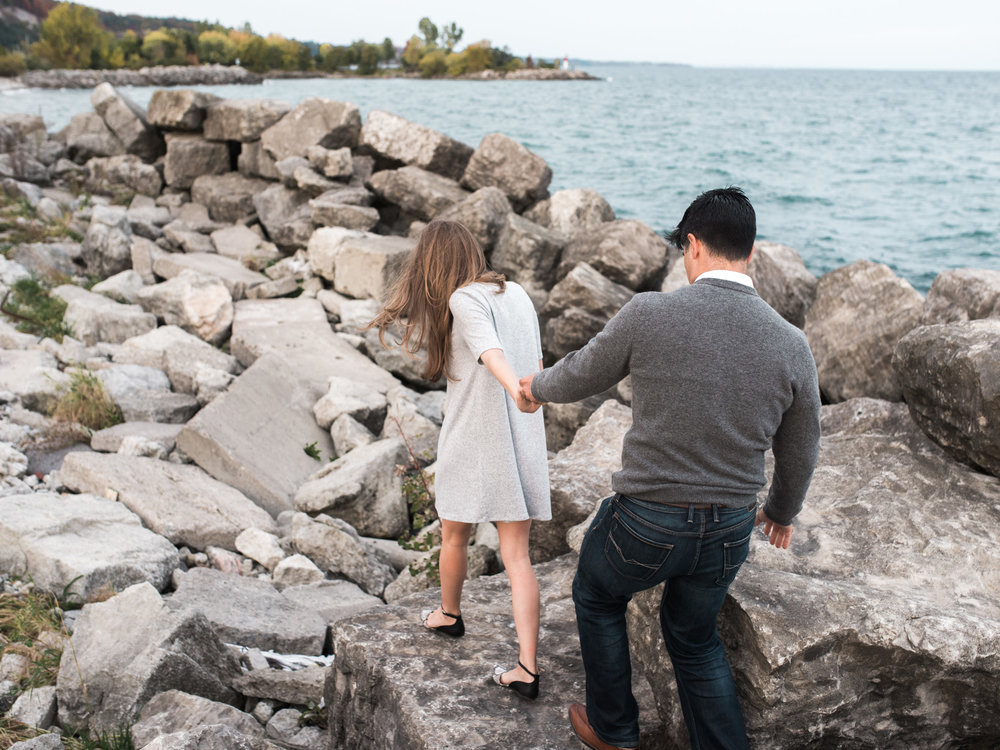 Toronto Surprise Proposal Engagement Shoot