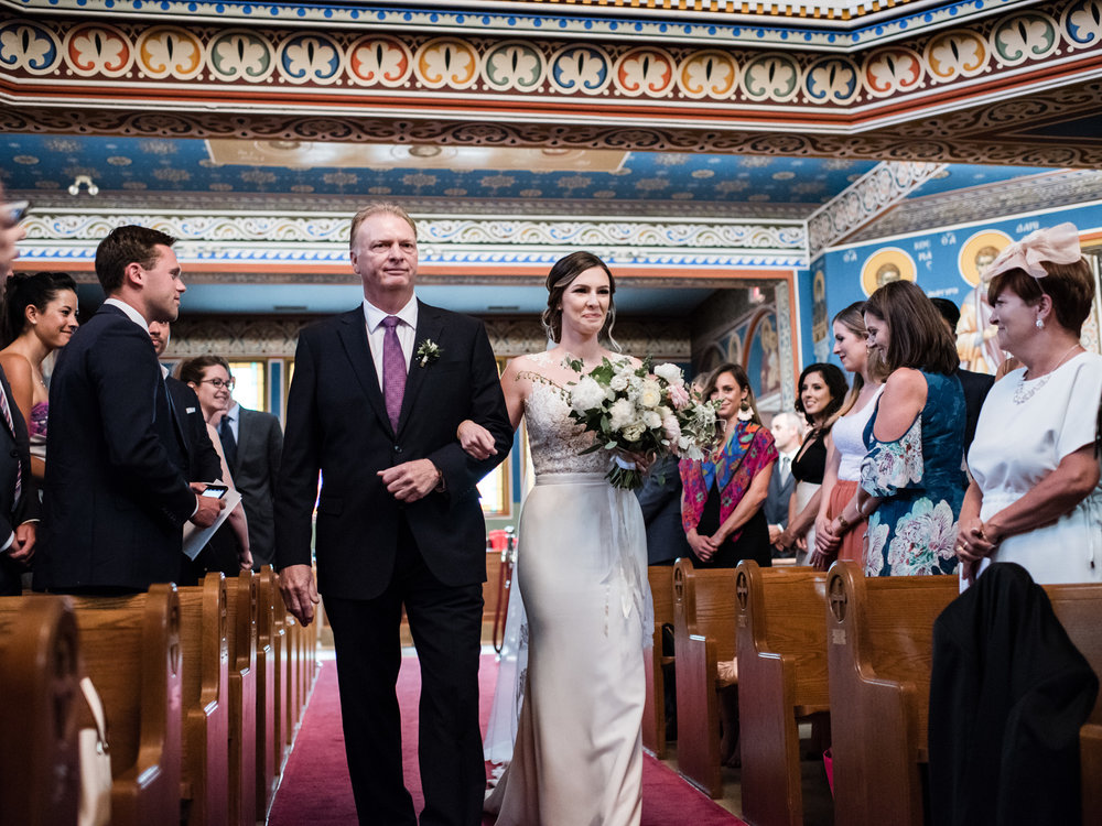 St. George's Greek Orthodox Church of Toronto - toronto halifax wedding photographer