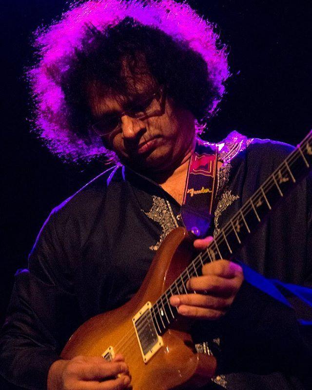 Guitar genius Prasanna has a record release for his fascinating new album All Terrain Guitar at @terraza_7  this Saturday! Are we all going? #jazz #worldjazz #worldmusic #pangeajazzfestalum  Photo by @grantaidan at #PJF15