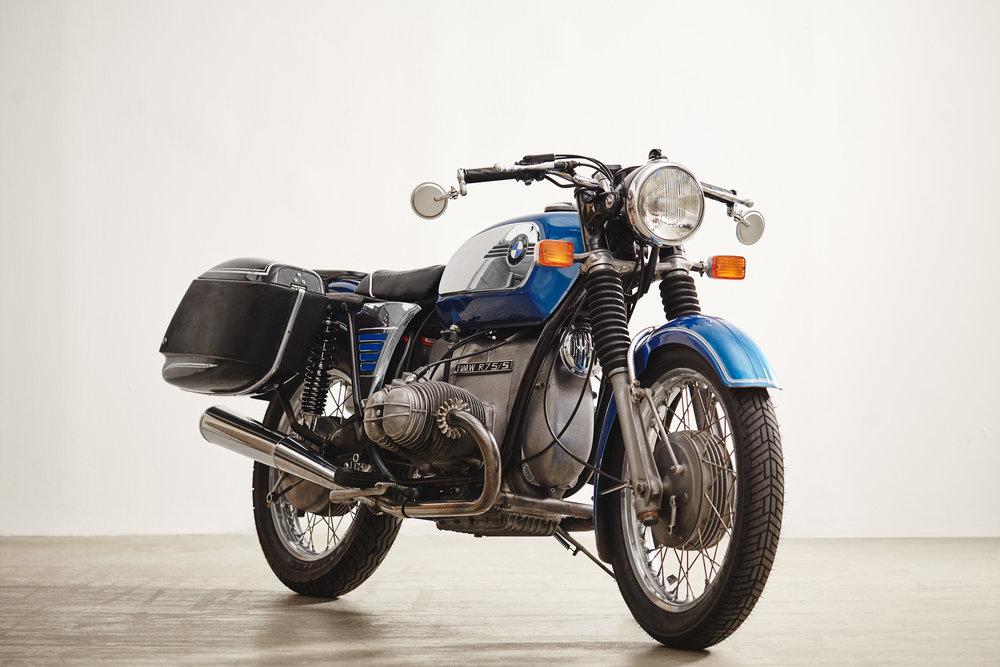 1974 Monza Blue BMW R75/5
