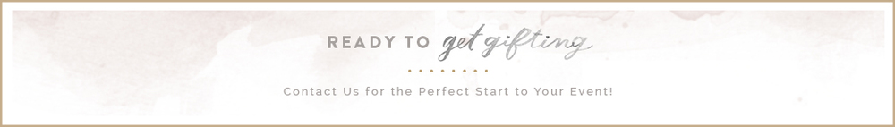 Get Gifting with Custom Wedding and Event Gifts
