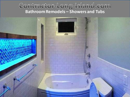 Bathroom Shower And Tubs LongIsland Contractor Long Island Trim Enchanting Bathroom Remodeling Long Island Painting