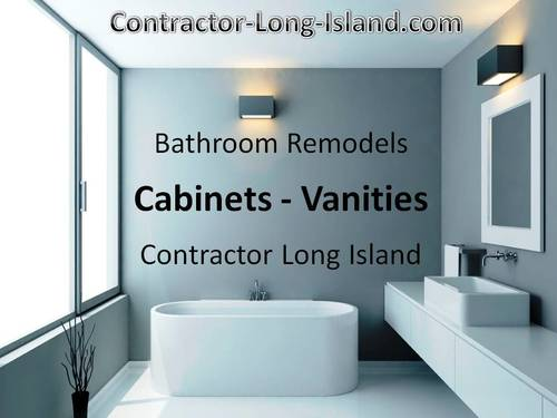 bathroom cabinet vanity remodel long island