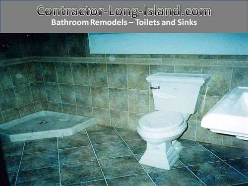Toilets And Sinks Bathroom Remodel Contractor Long Island Classy Bathroom Remodeling Long Island Painting