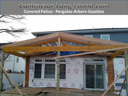 Covered Patio - Arbors Gazebos Deals from Contractor Long Island ...