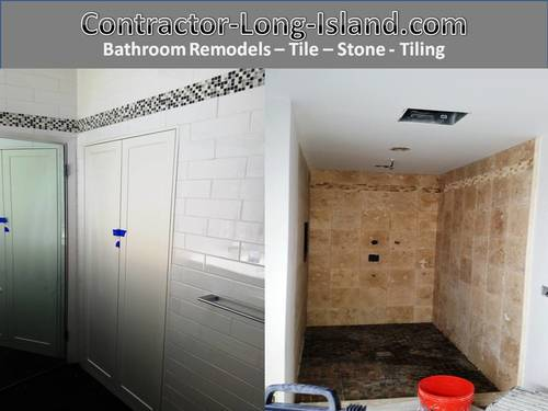 tile stone bathroom remodel long island 27 jpgremodeling long island contractor long island trim work crown