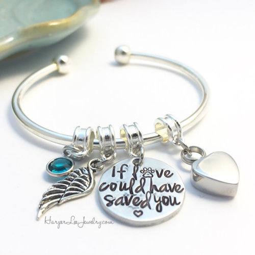 bracelets bracelet sterling il shop pet memorial silver ashes cuff loss cremation