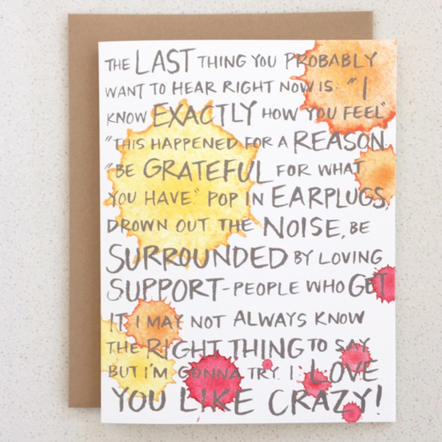 I Love You Like Crazy Ihadamiscarriage Created By Dr Zucker