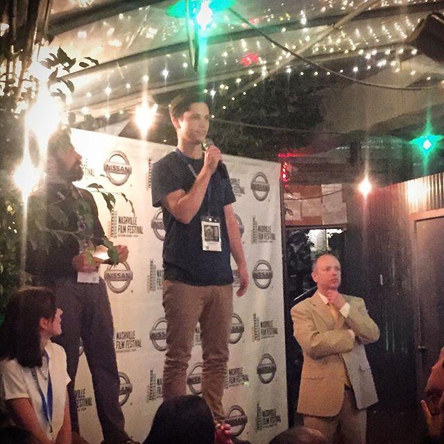 #outofthevillage just won the Oscar qualifying Grand Jury Prize for Best Short @nashfilmfest