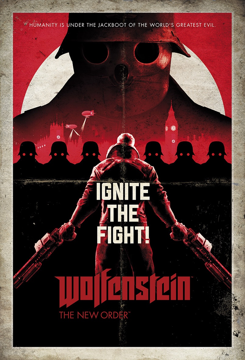 Fabulous Wolfenstein movies posters by Zarhol Rico.