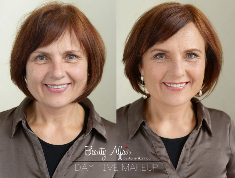 makeup class Los Angeles Before and after