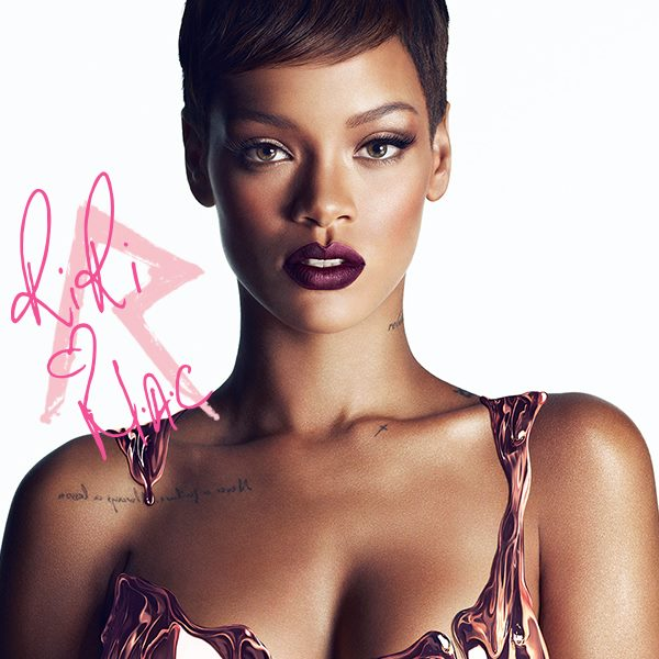 Rihanna riri makeup cosmetics mac fall trend