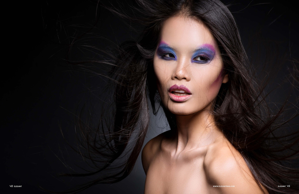 Kaylen Dao beauty editorial - la beauty photographer004Tomas Skaringa Makeup artist Agne Skaringa Beauty Affair