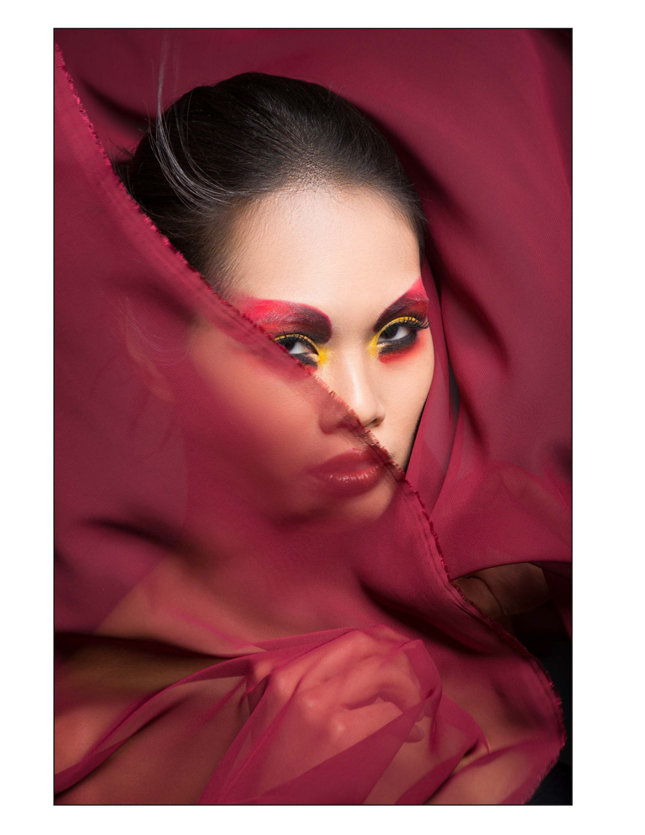 Kaylen Dao beauty editorial - la beauty photographer006Tomas Skaringa Makeup artist Agne Skaringa Beauty Affair