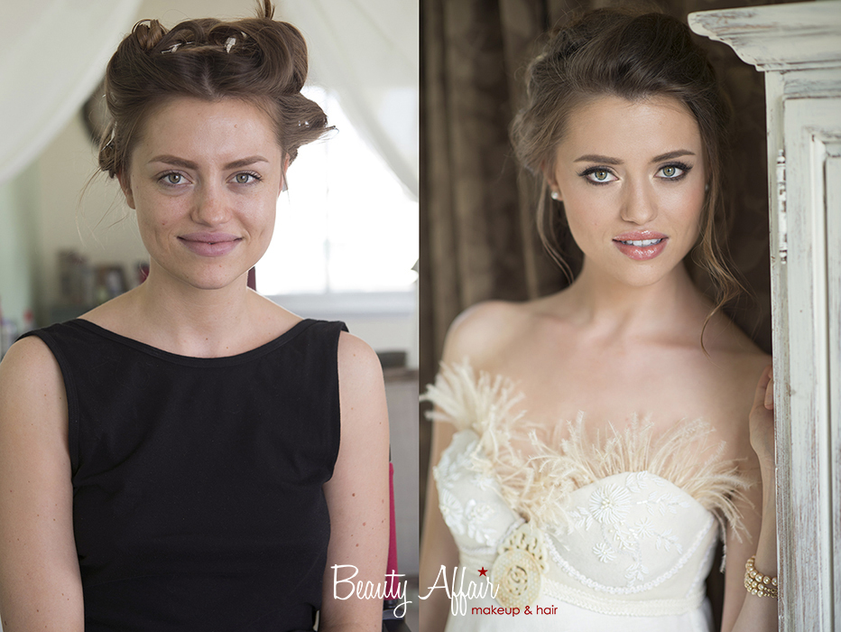 Bridal makeup trial  by Beauty Affair Agne asian beauty bride to be flawless updo romantic