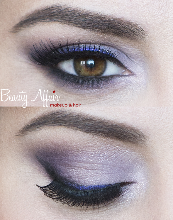 purple eyeshadows for brown hazel eyes by Beauty Affair Agne Skaringa