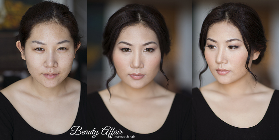 Bridal makeup trial  by Beauty Affair Agne asian chinese beauty bride to be flawless natural glowing skin