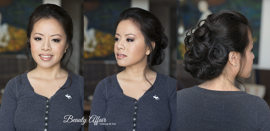 Thai asian bridal makeup trial by Beauty Affair Agne Los Angeles