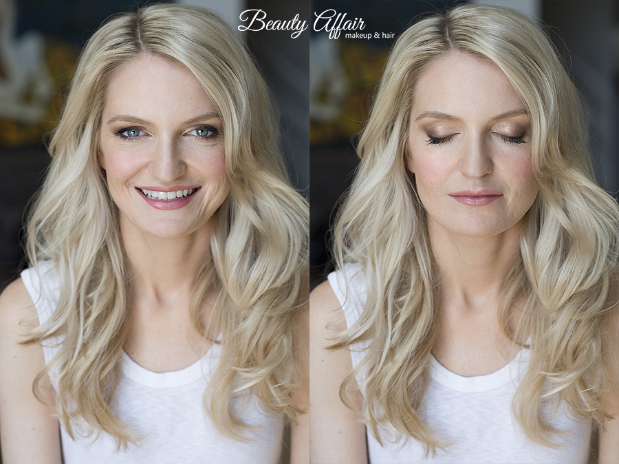 Makeup and hair trial by Agne Skaringa Beauty Affair bride to be bridal makeup
