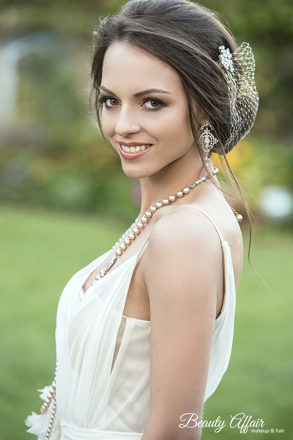 Wedding makeup vintage soft gorgeous pretty lovely bride makeup by Beauty Affair copy