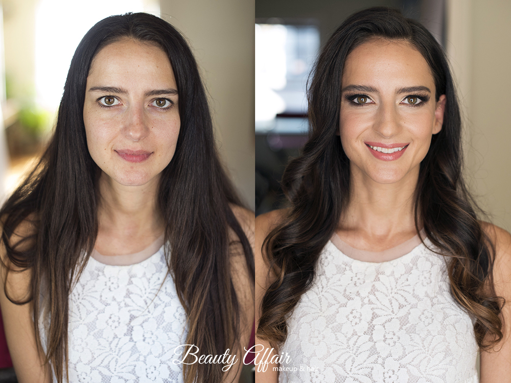Bridal makeup and hair by Agne Beauty Affair Los Angeles before and after.jpg