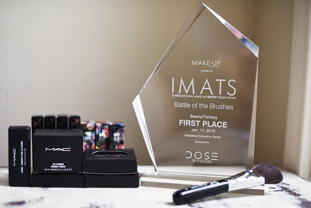 Imats 2016 battle of the brushes winner Agne Skaringa.jpg