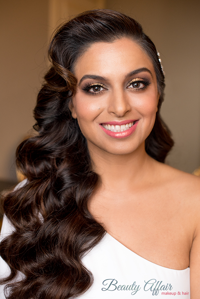 Indian pink lips glam bride smokey eyes makeup gold LA Los Angeles makeup artist pink Beauty Affair glam wave.jpg
