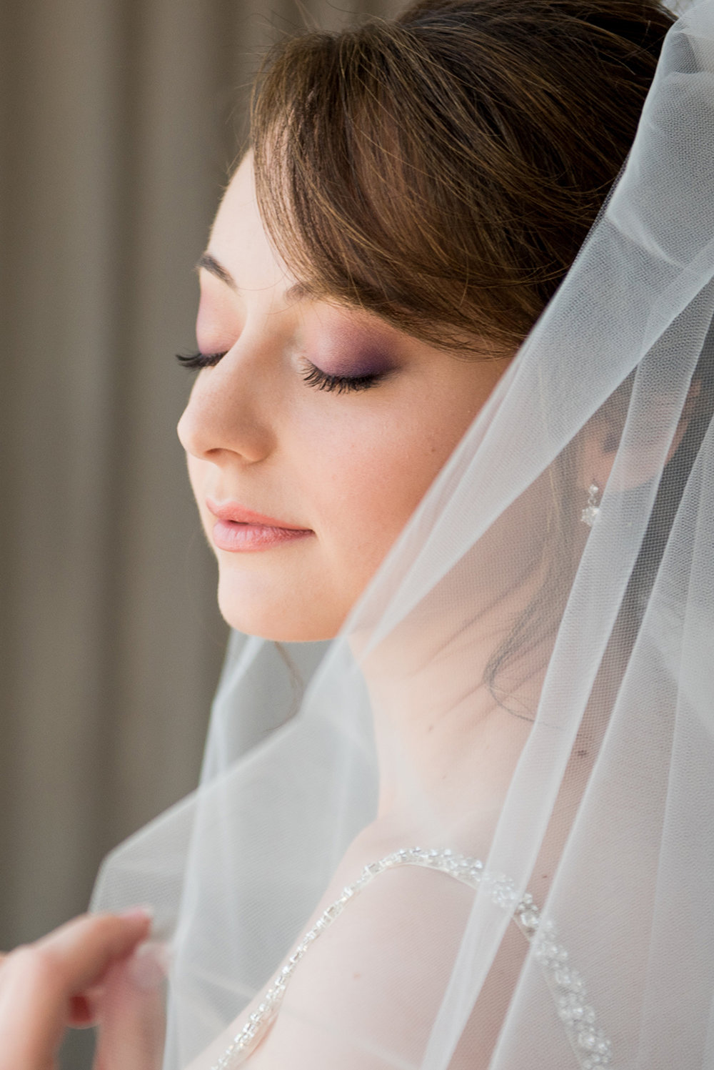 bridal purple pink eyes bride purple eyeshadow coral lips by beauty affair.jpg