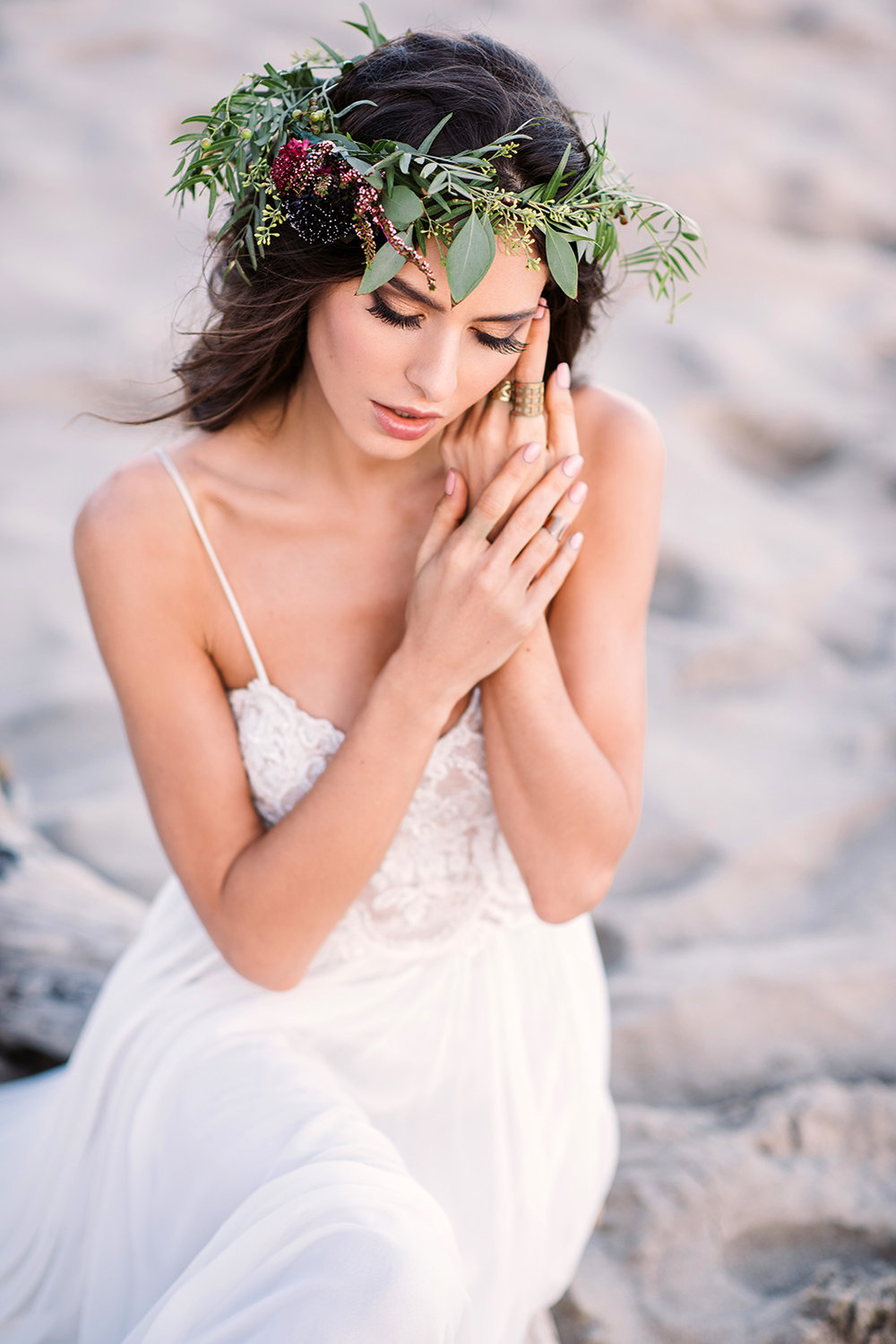 Beach Bride glow natural Galia Lahav, Photo The Big Affair, Mua and Hair Beauty Affair, Model Elina Fedorova 08.jpg