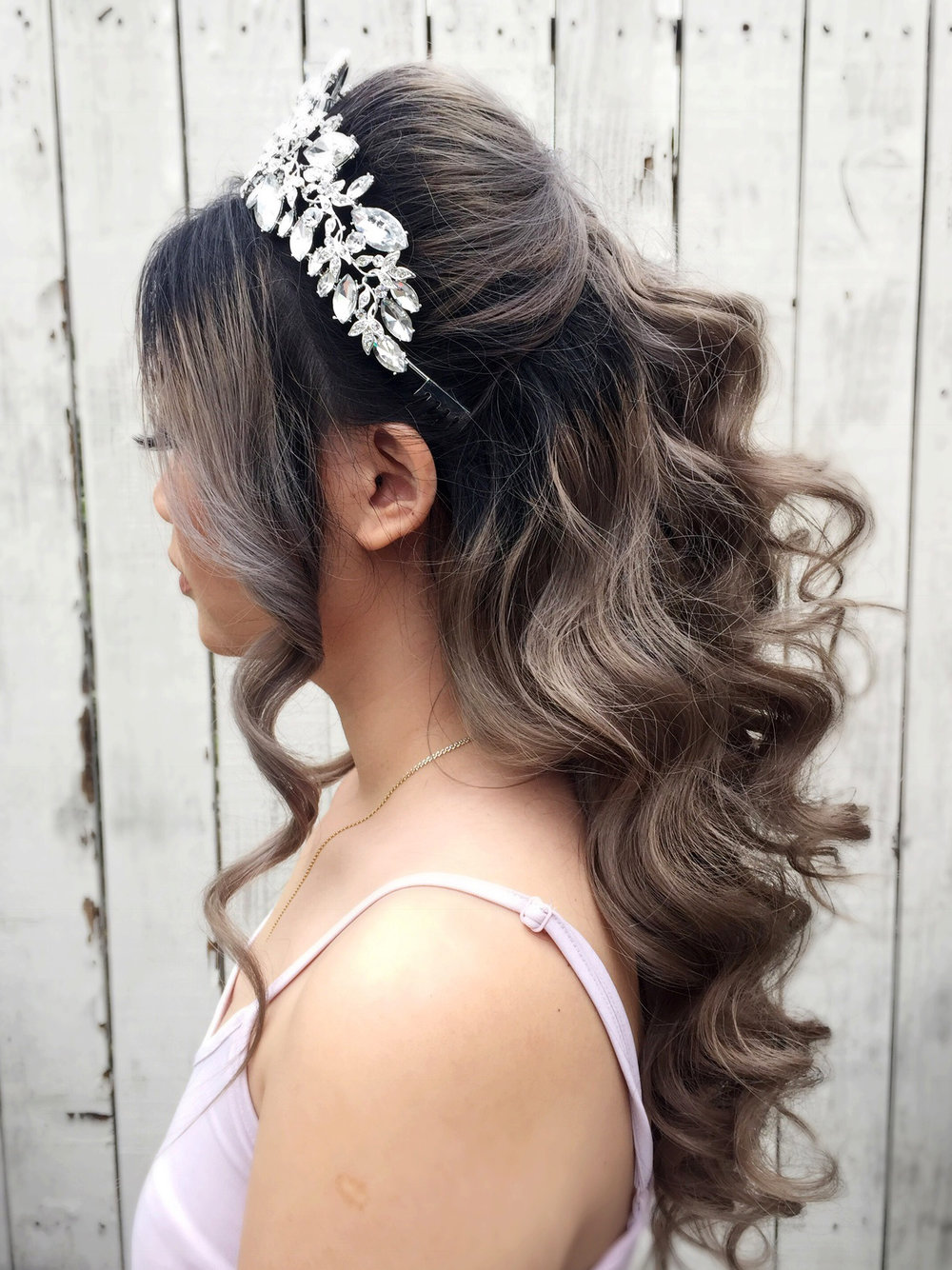 Wavy princess bride bridal hair beauty affair la.JPG