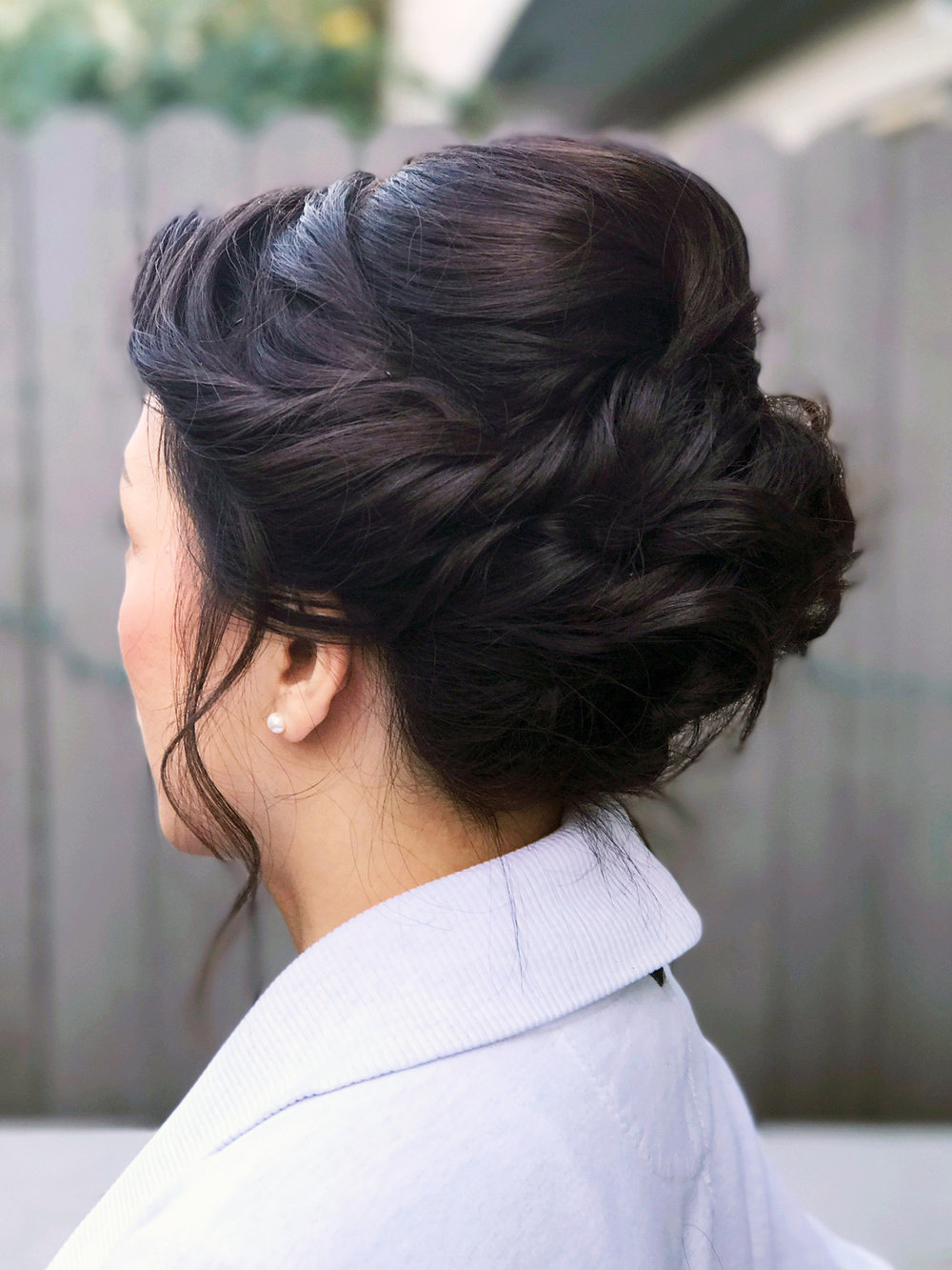 Updo romantic beauty affair los angeles.JPG