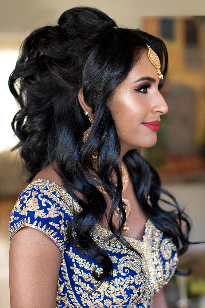 South Asian bride indian hair Bridal Tiblury wedding Beauty Affair .jpg