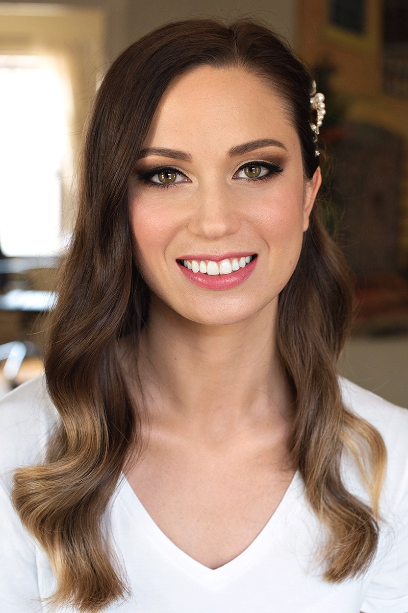 bride airbrush Temptu Makeup and hair Los Angeles trial glam hair Beauty Affair eyeliner_2 copy copy.jpg