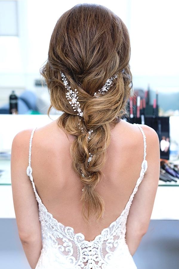 Bridal jewel tousled down hair braid beauty Affair.jpg