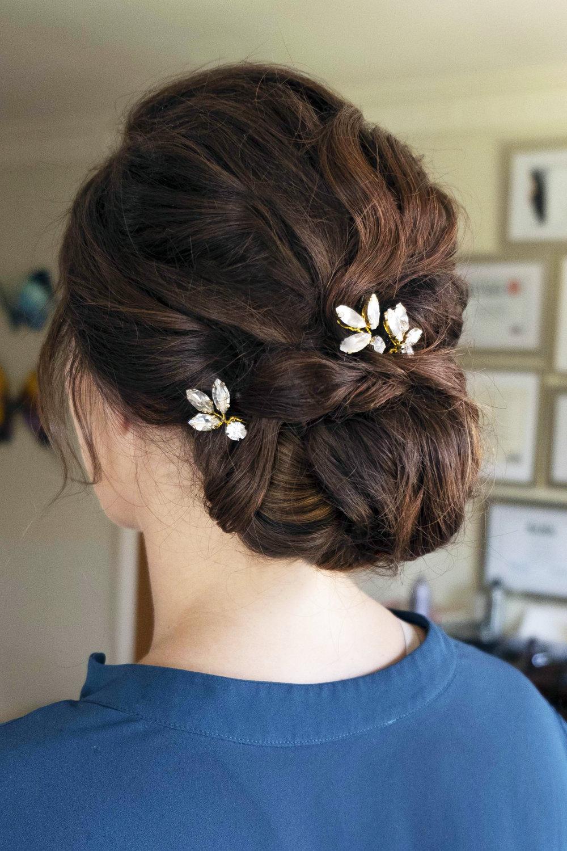 LA Los Angeles wedding makeup updo boho glam Bridal hair elegant Beauty Affair_10.JPG