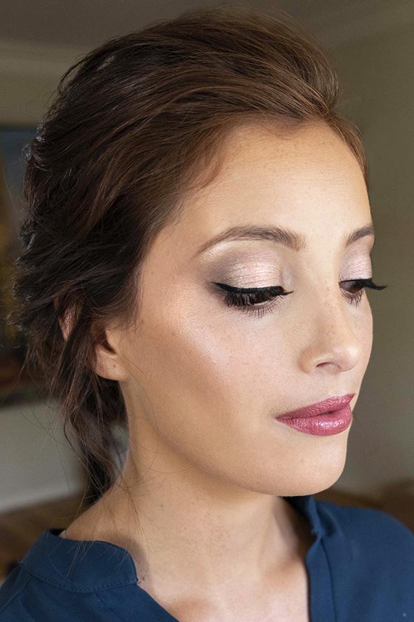 min glowing LA Los Angeles wedding makeup updo boho glam Bridal hair elegant Beauty Affair_6.jpg