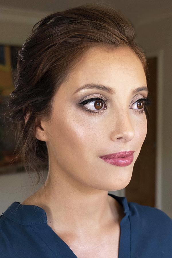 min LA Los Angeles glowing wedding makeup updo boho glam Bridal hair elegant Beauty Affair_5.jpg