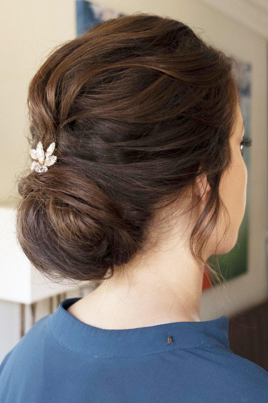 LA Los Angeles wedding makeup updo boho glam Bridal hair elegant Beauty Affair_9.JPG
