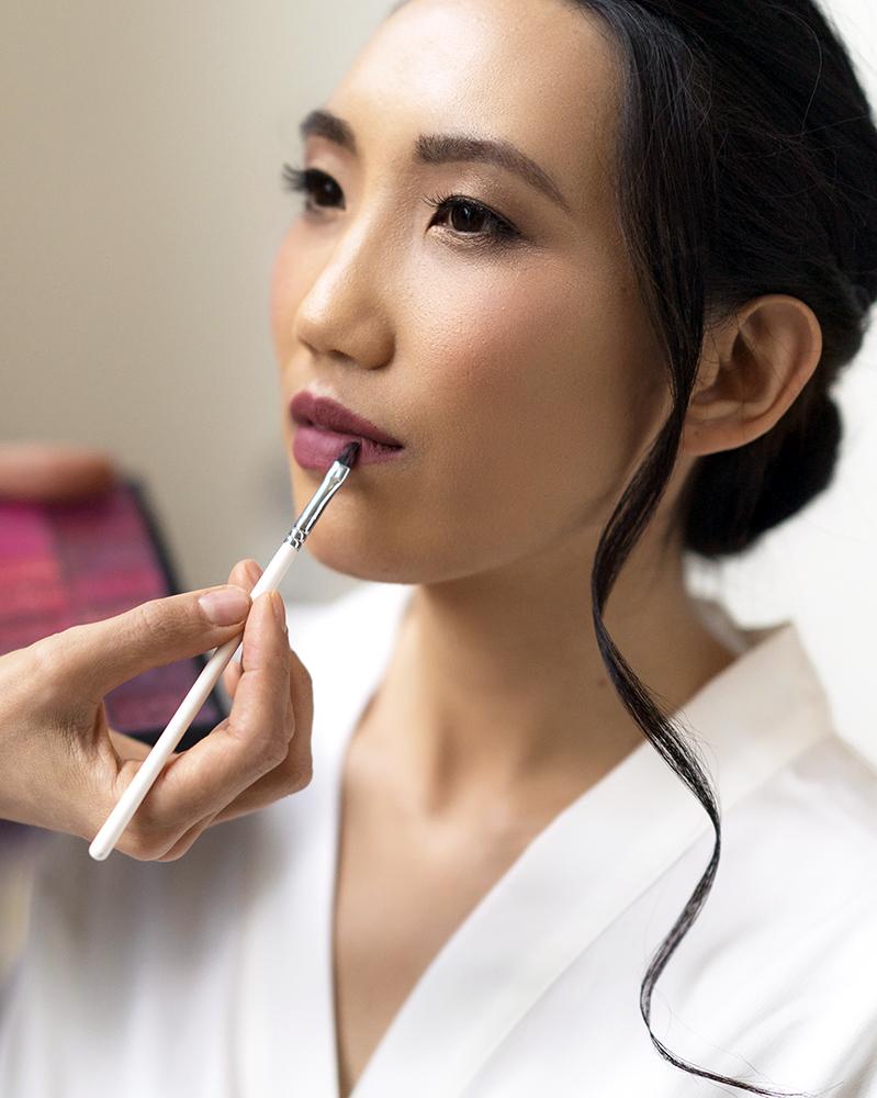 pink lips mauve Asian bride airbrush makeup los angeles.jpg