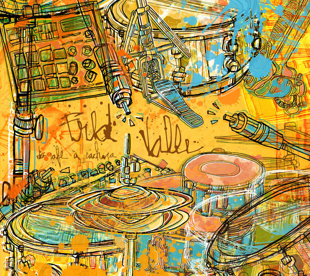 CD Do café à cachaça / Fred Valle 2016