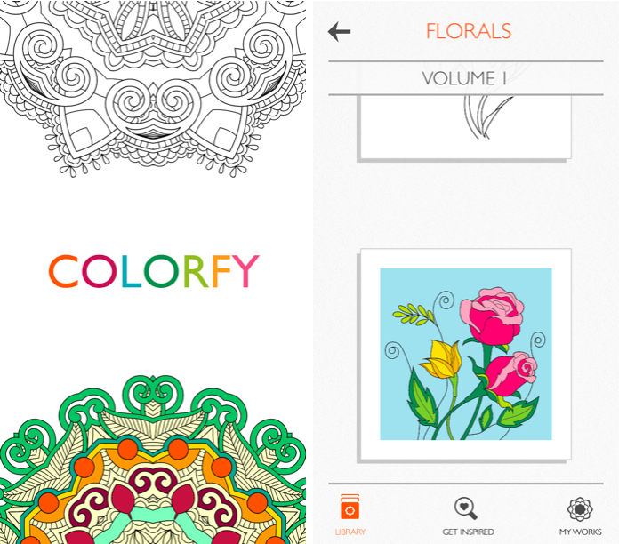 Colorfy: a perfect app for de-stressing. // My Top 5 Apps from emilyfisk.com