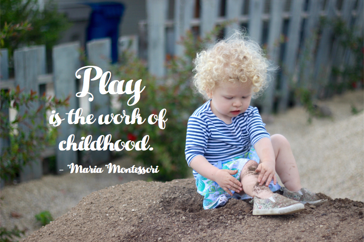Play is the work of childhood // emilyfisk.com