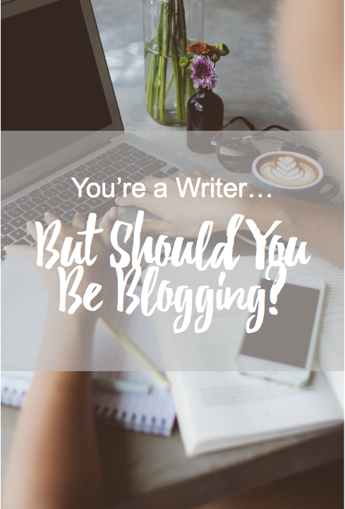 You're a writer, but should you be blogging? Blogging can help develop your writing career, especially if you want to publish a book. Here's one writer's take.