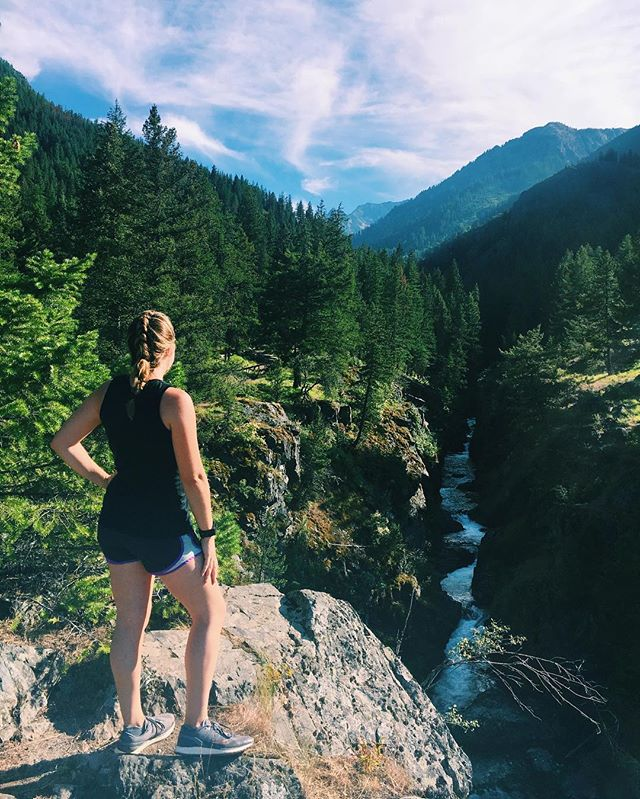 Another successful getaway to the mountains. ✔️😍🏔🏃🏼‍♀️ #trailrunning #northwestisbest