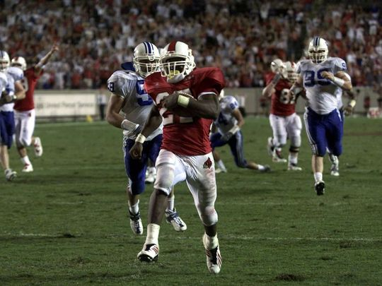 (Pictured: TC Stallings #27   University of Louisville   1997-2001