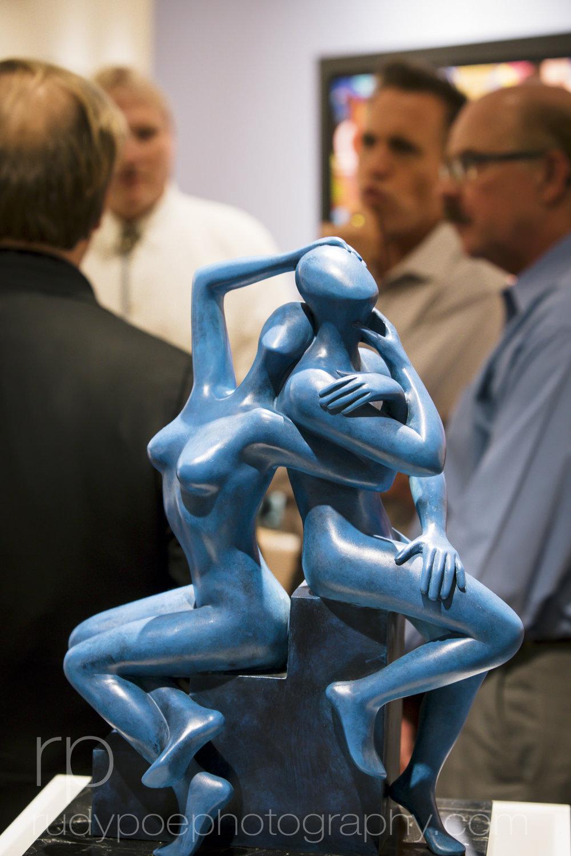 Martin Lawrence Galleries: Kostabi Opening