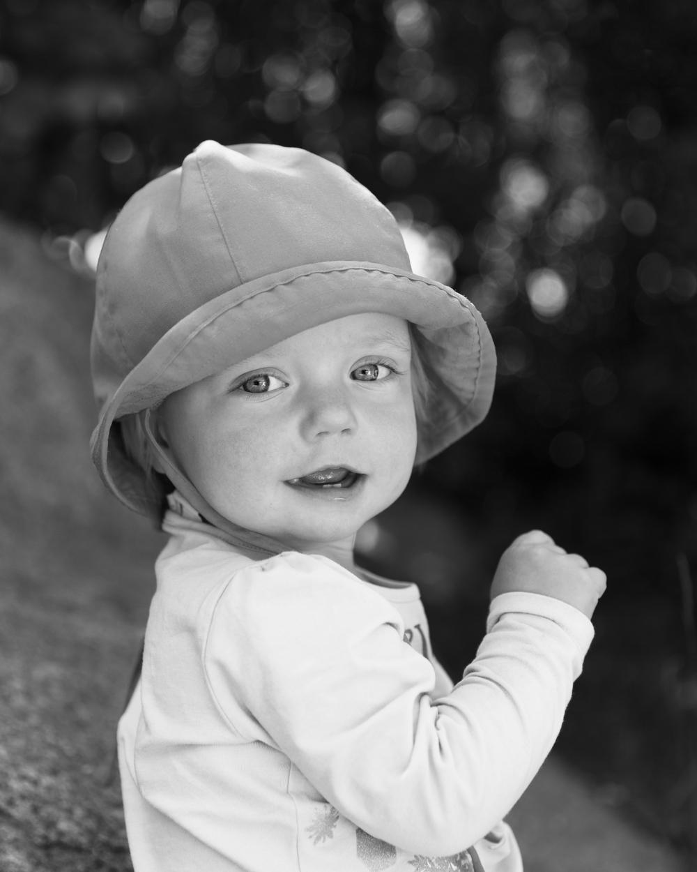 Porträtt på små