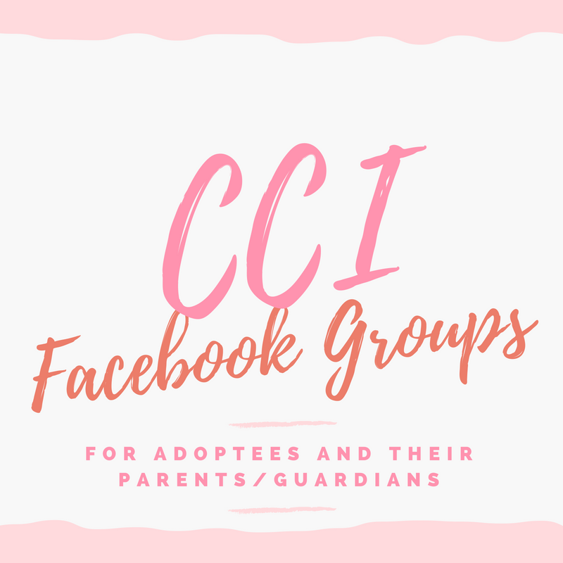 CCI Facebook Groups